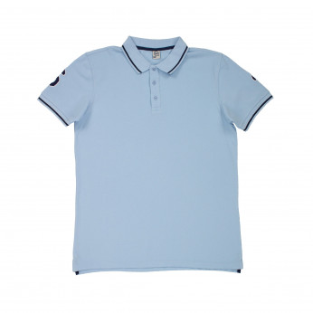 Polo homme DOUBLE PATCH