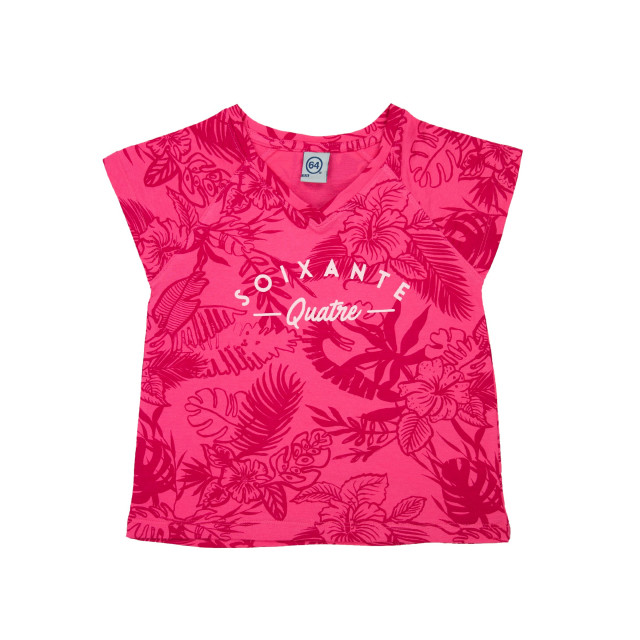 Tee-shirt fille ALLOVER PALMA