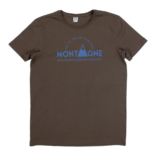 Tee-shirt homme UNE MONTAGNE