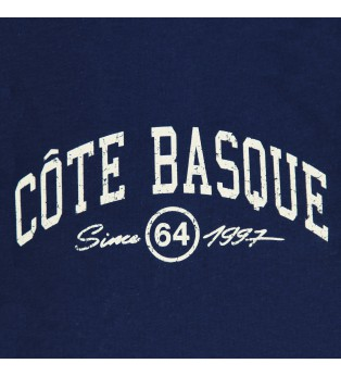 Tee-shirt fille COTE BASQUE CITY