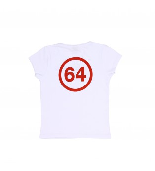 Tee-shirt fille ESSENTIELS 64 LOGO