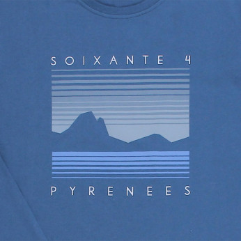 Tee-shirt homme PYRENEES SUNSET